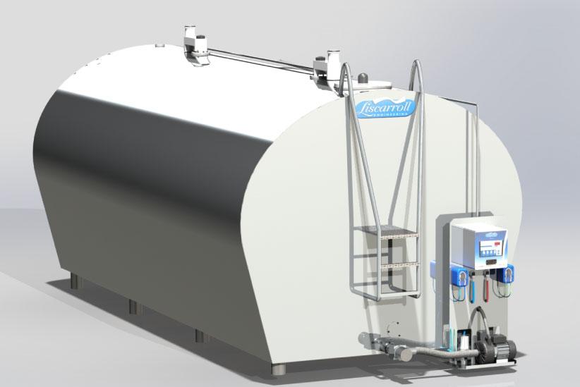 Milk Cooling Tank Control Panel